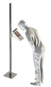misuratore temperatura corporea per accessi automatici