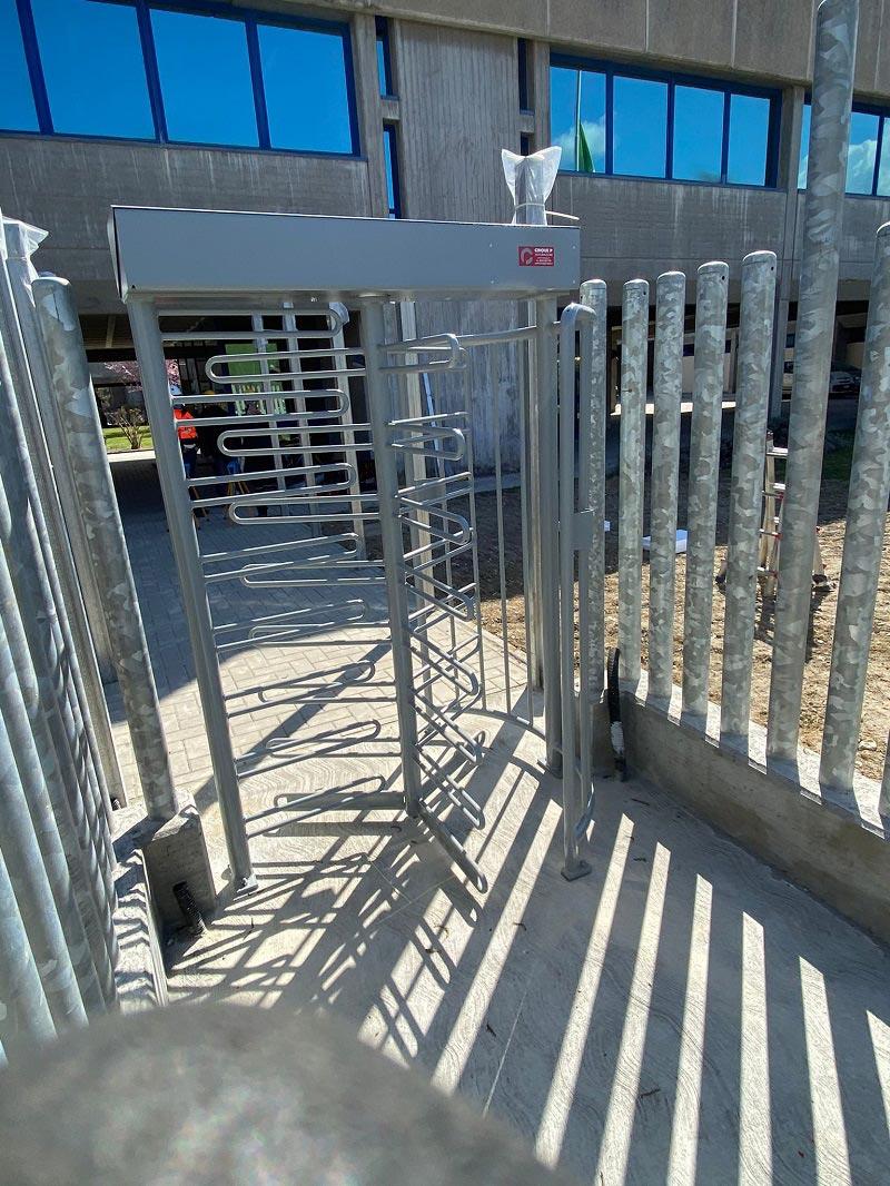 Progetto Cinque P installazione tornelli presso l'azienda Buzzi Unicem