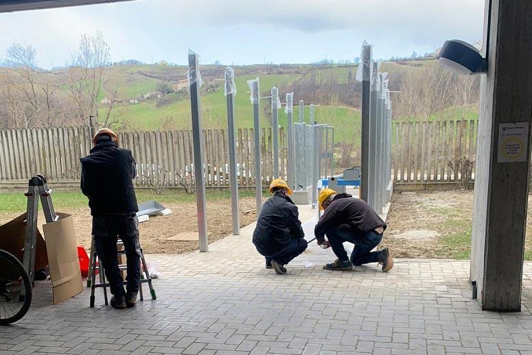 Installazione tornelli Cinque P presso Buzzi Unicem