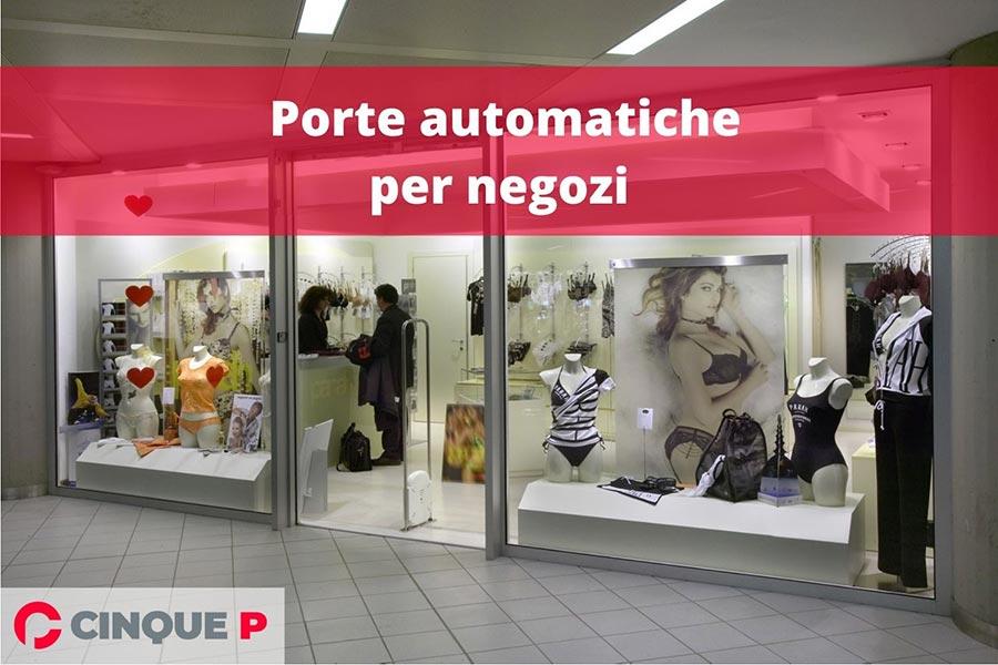 porte automatiche per negozi